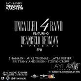 UnCalled 4 Band ft DeAngelo Redman & Friends