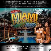 10TH ANNUAL MIAMI TAKEOVER 2017 'BANDS IN THE SANDS'